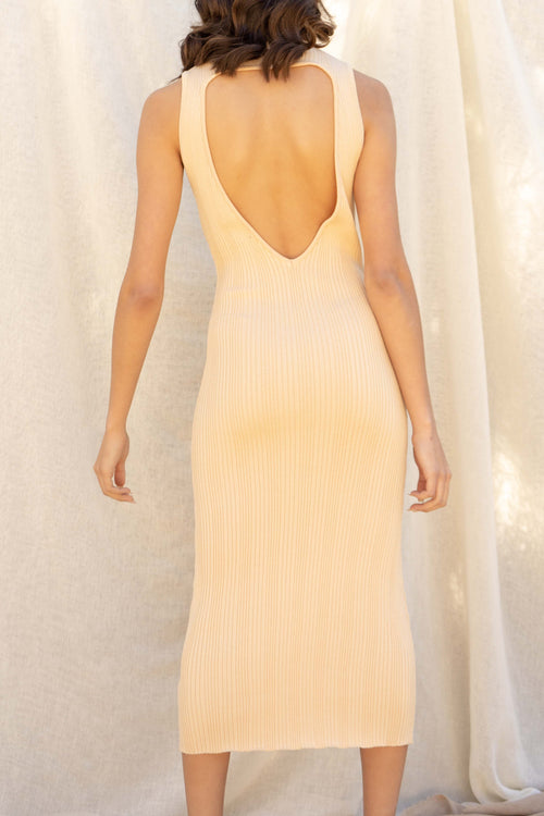 Emma Open Back Dress