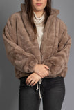 Sophie Faux Fur Zipper Jacket