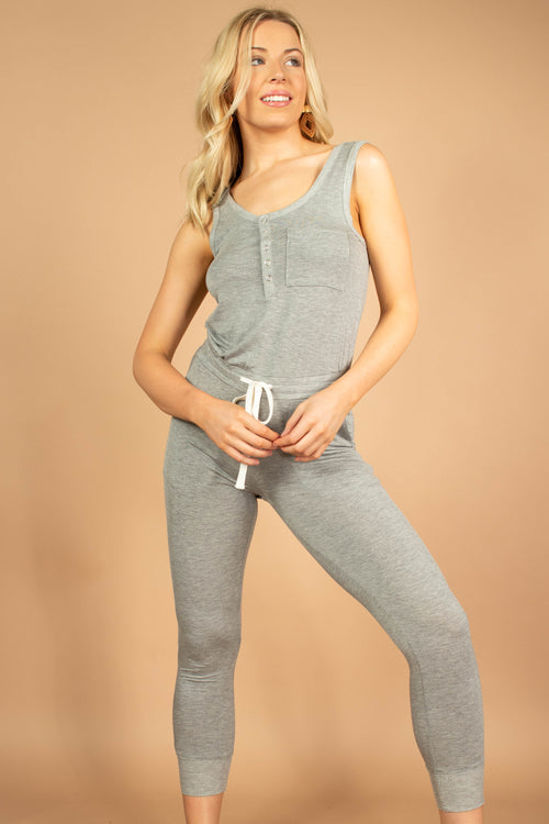 All Time Favorite Ribbed Jumpsuit