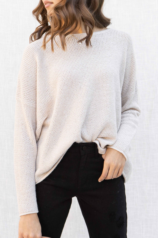 Sunday Mornings Oversized Sweater
