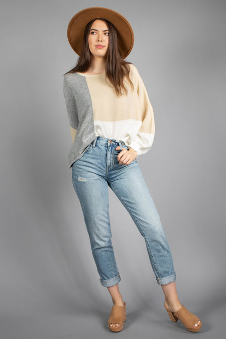 Jamie Knit Sweater Top
