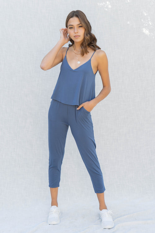 Bree Layered Top Jumpsuit