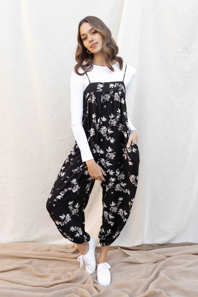 Samantha Printed Slouchy Jumpsuit