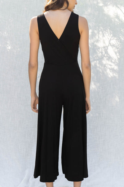 Penny Wide Leg Sleeveless Jumpsuit