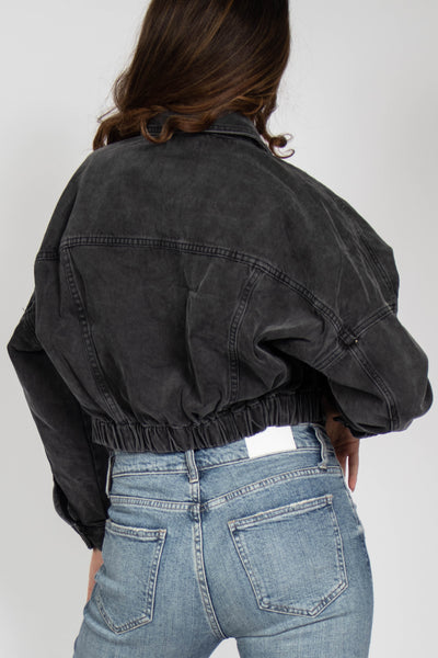 Vintage Crop Denim Jacket