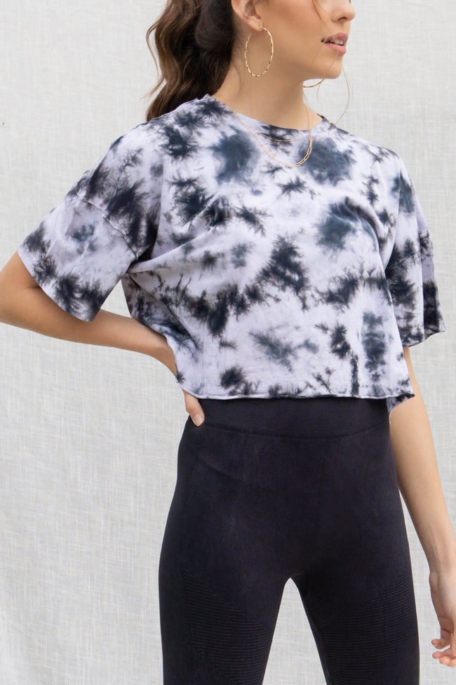 Anika Tie Dye Short Sleeve Top