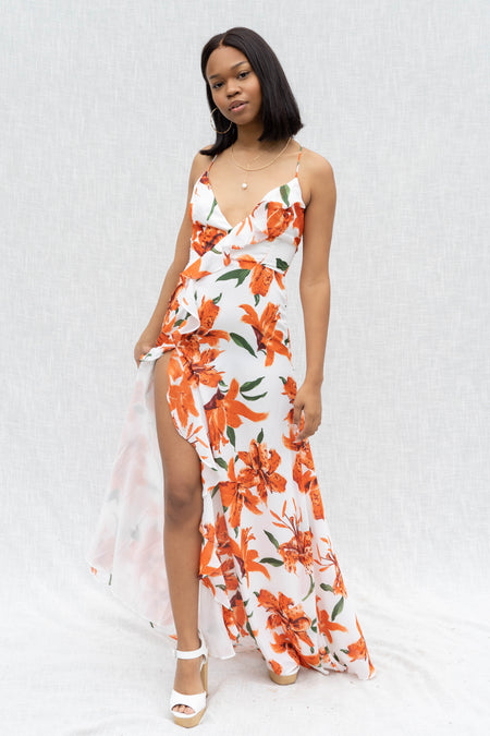 Daydream Floral Tiered Dress
