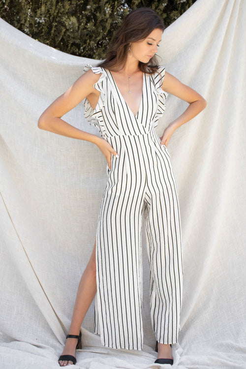 All About Stripes Jumpsuit