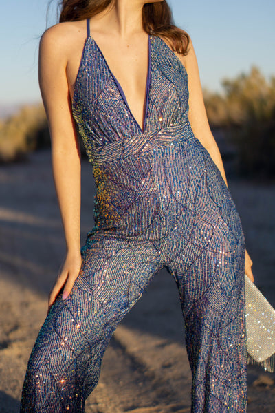 Valerie Sequins Jumpsuit