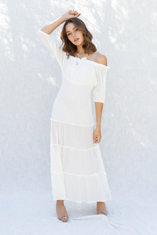 Milani Off Shoulder Maxi Dress