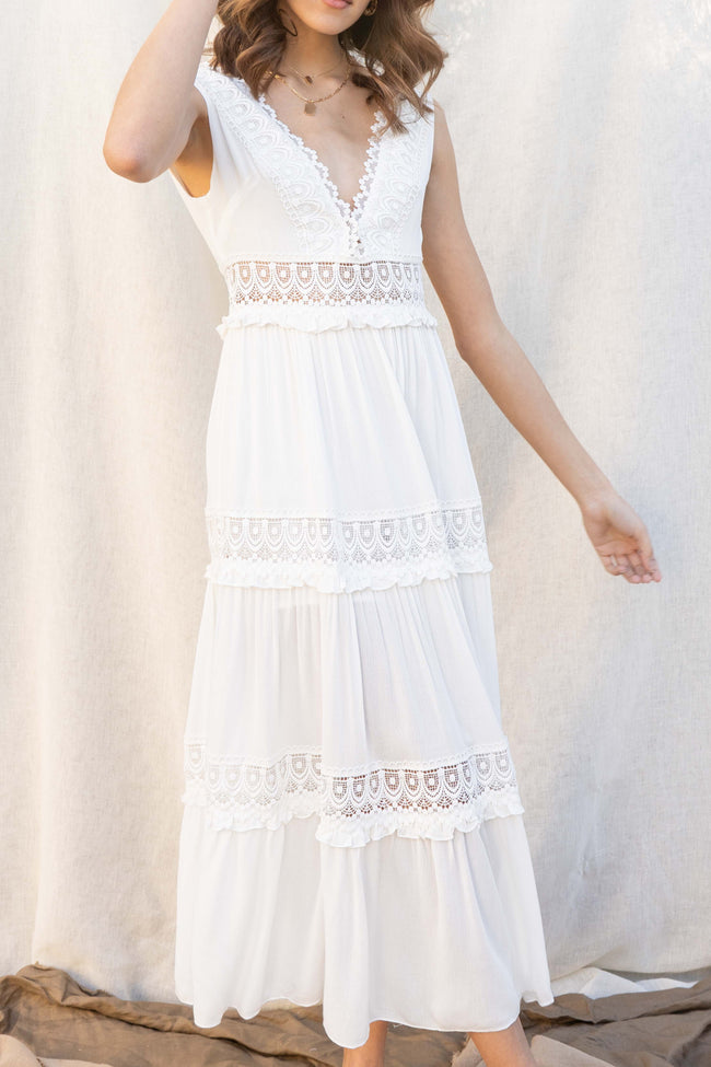 Esmeralda Maxi Lace Dress