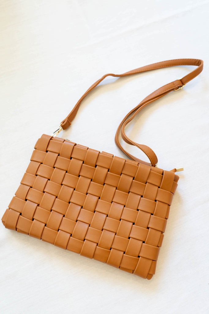 Weaved Clutch Bag