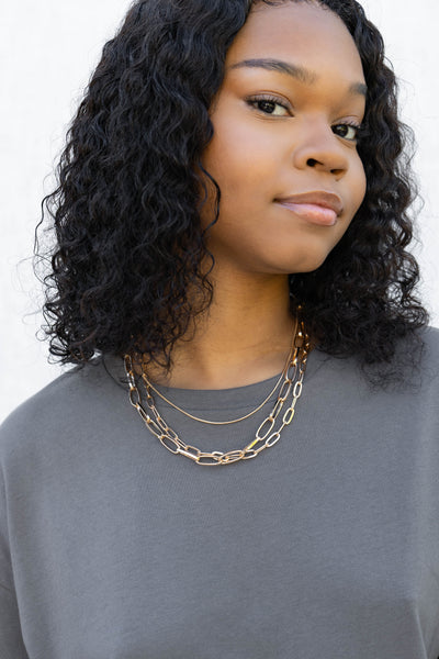 Cable Chain Choker Necklace