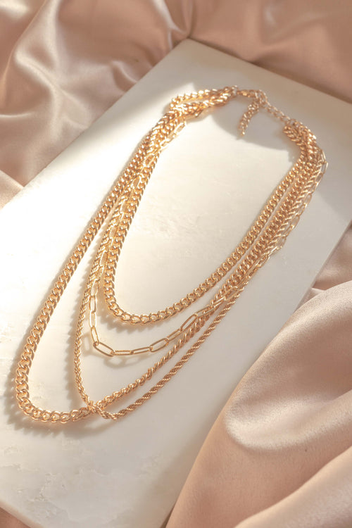 Must Have Layered Chain Necklace