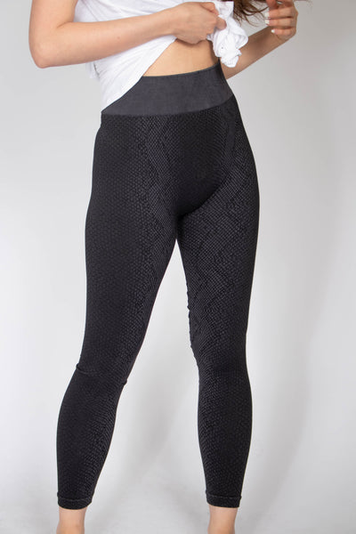 Snake Seamless Workout Leggings