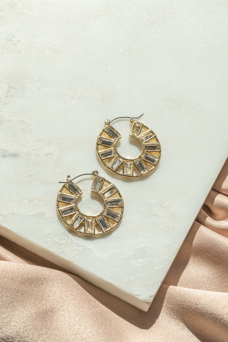 Circle Star Earrings
