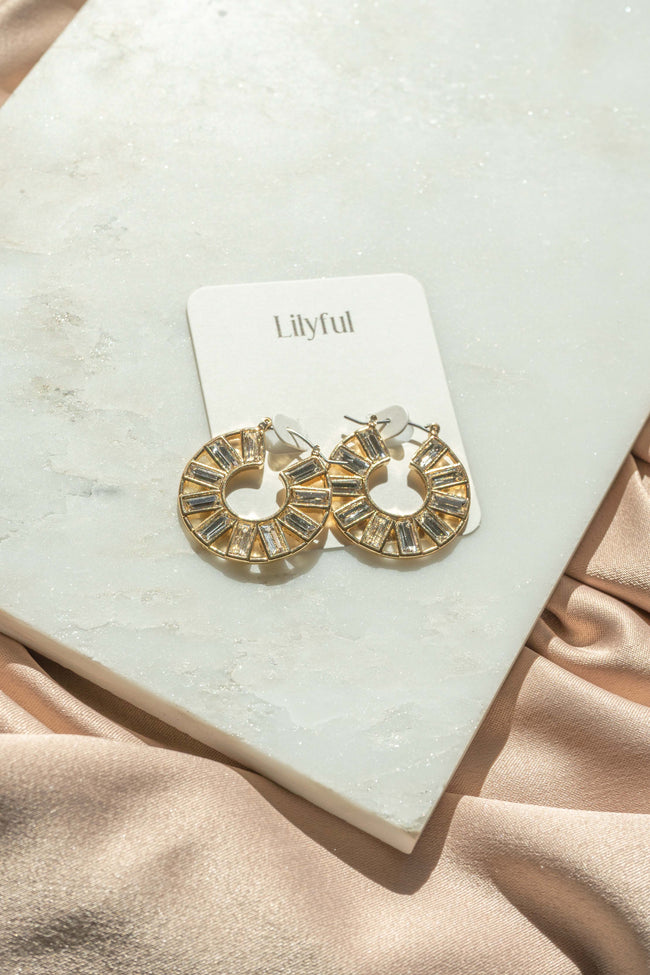 Emma Rhinestone Earrings