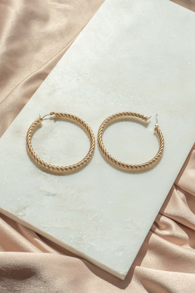 Natalia Hoop Earrings