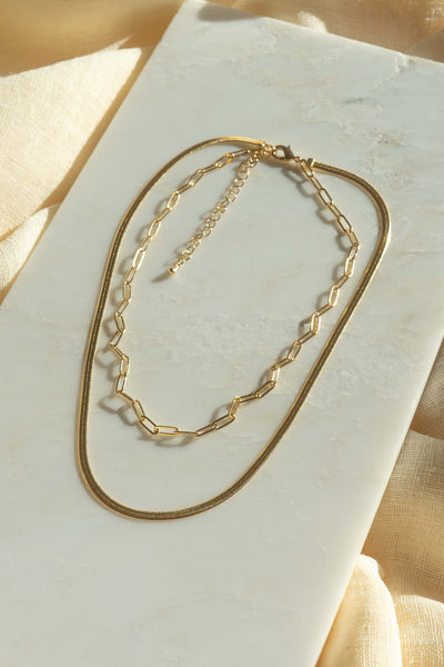 Nova Herringbone Necklace
