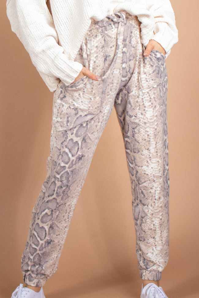 Perfect Snake Print Bottoms