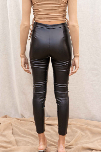 Selena Faux Leather Skinny Pants