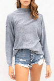 Devin Mock Neck Sweater