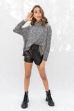 Amber Turtle Neck Knit Sweater