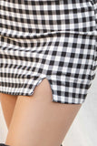 Clarissa Plaid Mini Skirt