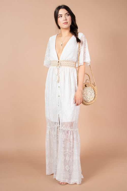 Jamie Lovely Lace Maxi Dress