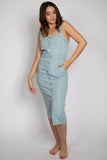 Tencil Denim Tank Pocket Jumpsuit