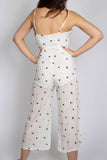 Tiny Triangle Print Jumpsuit