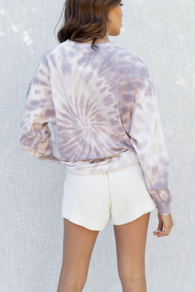 Relaxed Fit Tie Dye Sweater