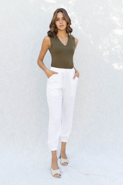 Bailey Double Layer Vneck Top