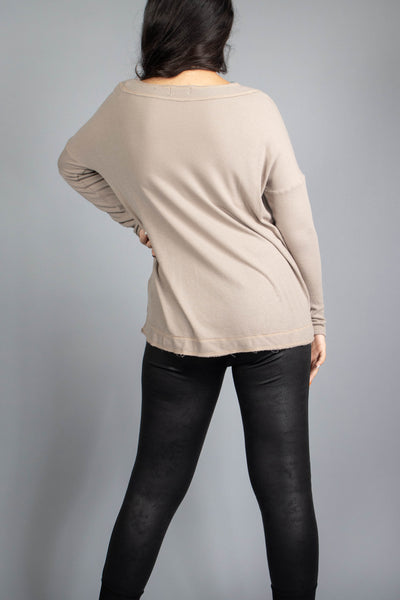 Mia Thermal Knit Top