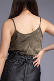 Lily Satin Cami Top