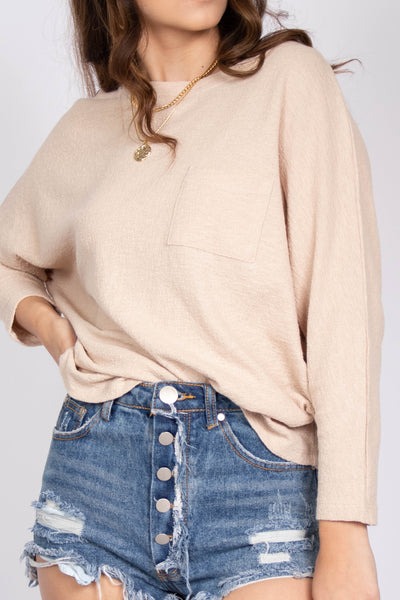 Cuddle Me Round Neck Top