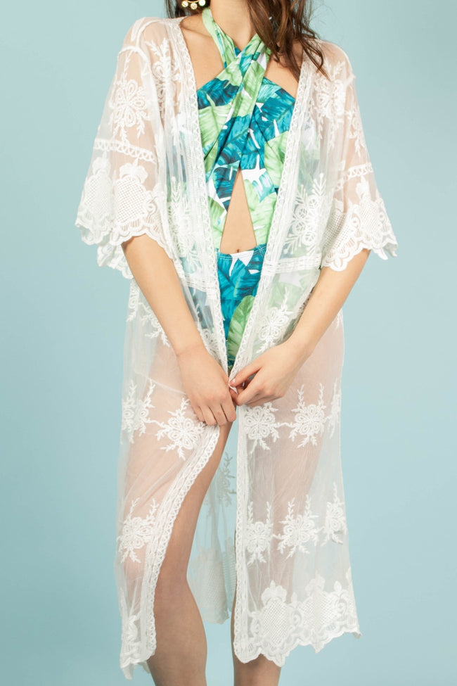 The Go-To Embroidered Kimono