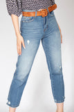 Super High Rise Straight Jeans