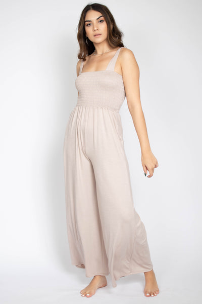 Stella Smocking Top Jumpsuit