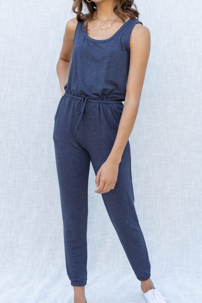 Penelope French Terry Jumpsuit
