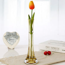 Load image into Gallery viewer, new fashion multi-color glass vase handmade blown for Home Decoration 25cm height