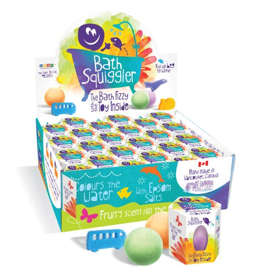 Bath Squiggler Singles Set of 48 boxes