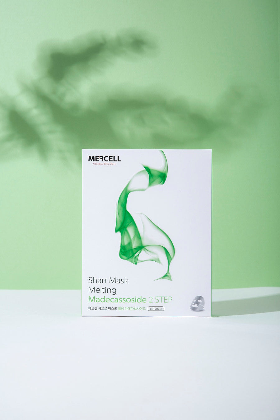 Mercell Sharr Mask Sheet Melting Madecassoside 1 box (5 ea) (4392620163125)