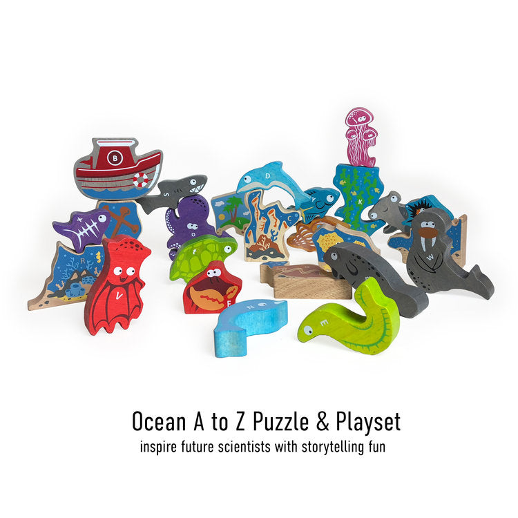 OCEAN A TO Z + SPACE A TO Z PUZZLE BUNDLE