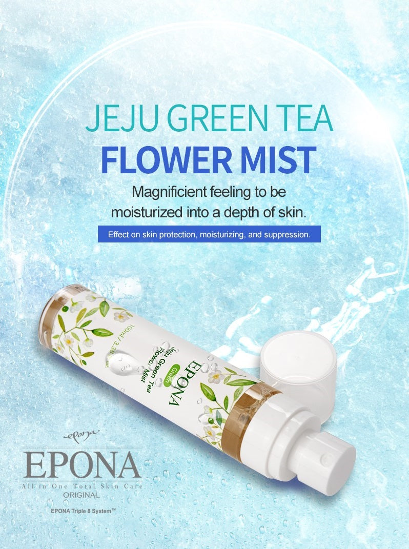 EPONA Jeju Green Tea Flower Mist (4424220049461)