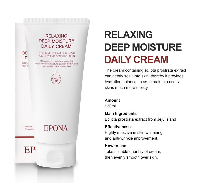 EPONA Relaxing Deep Moisture Daily Cream (4421962858549)