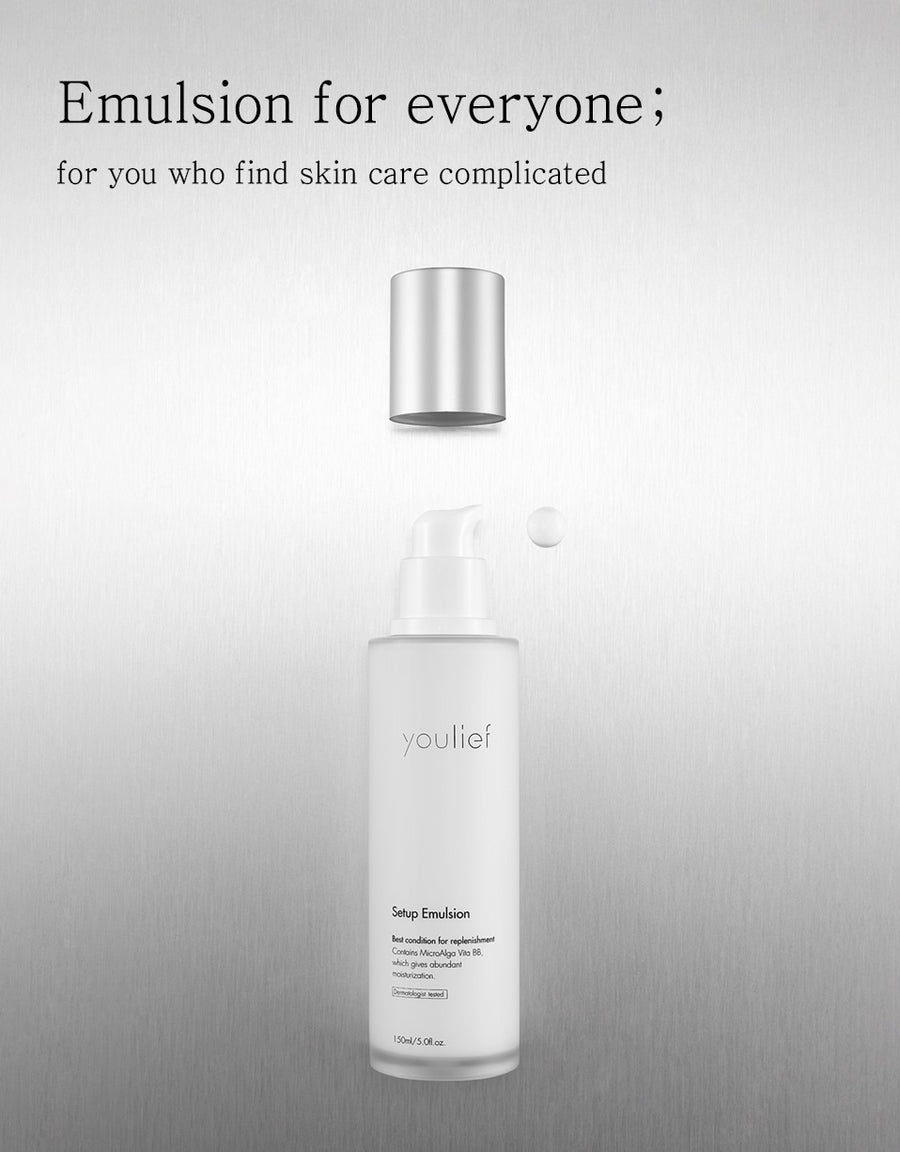youlief Setup Emulsion 150ml (4416801767477)