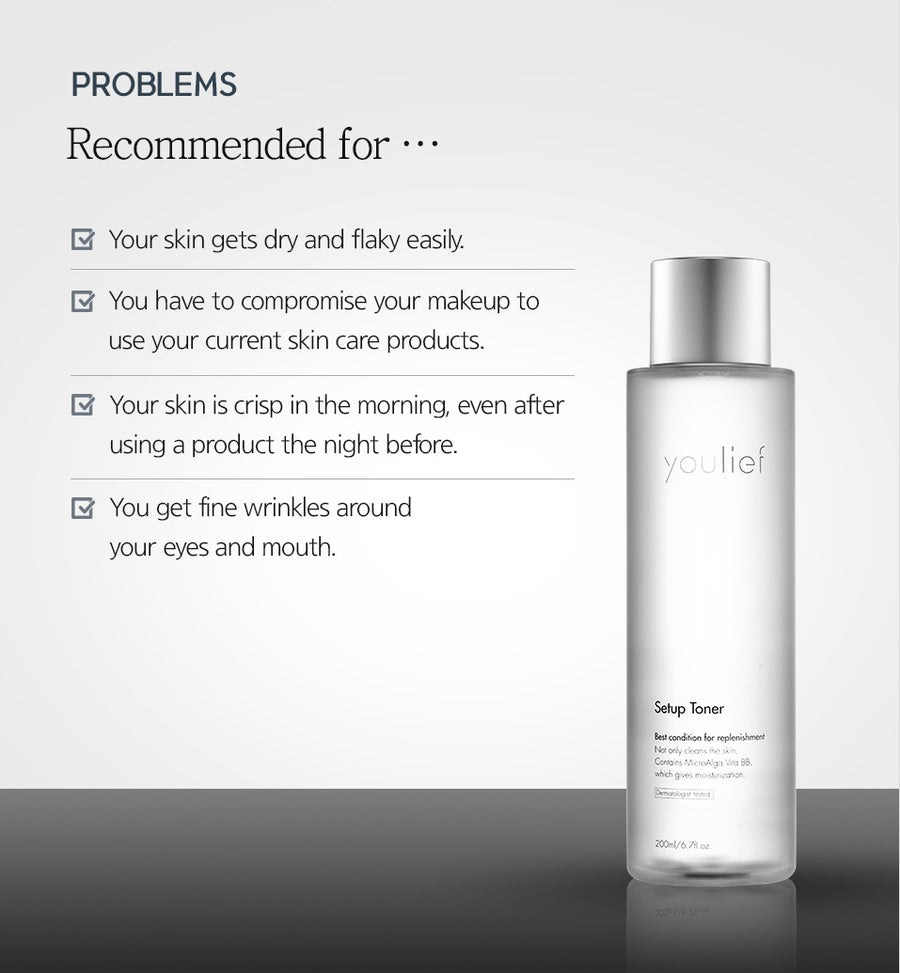 youlief Setup Toner 200ml (4416782794805)