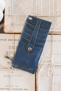 HOBO - LINN CREDIT CARD CASE - RIVIERA