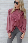 RAGGED RUFFLES TOP